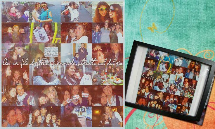 Collage di foto per regalo di compleanno