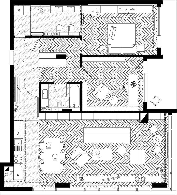 Apartment Layout - http://www.designbvild.com/4117/apartment-layout/