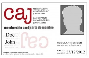 #membercards are back! Eligible #CAJ members can order an official plastic card FREE of charge.