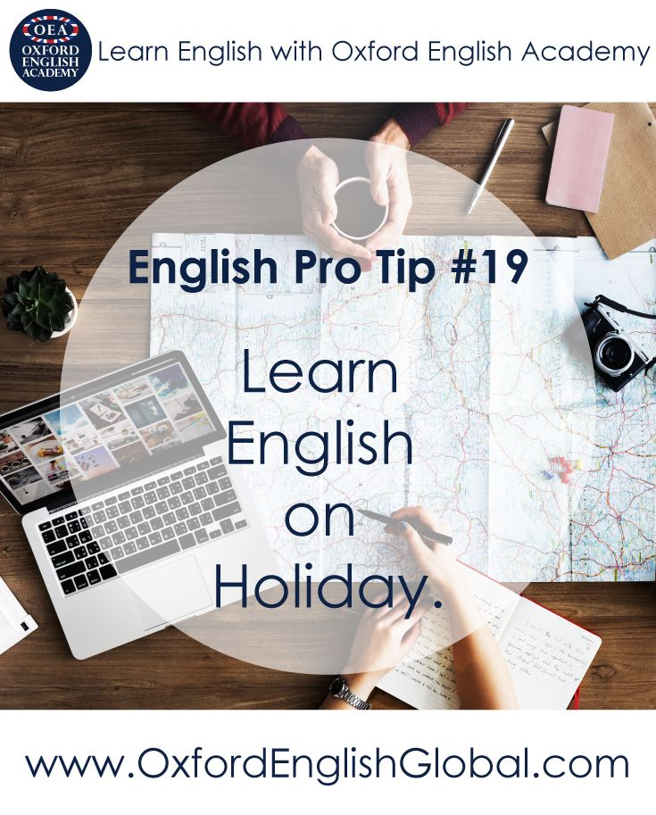Learning English is easy when you are relaxed and receptive. Going on holiday in an English-speaking country is a great way to learn English. Why not choose Oxford or Cape Town? Both cities offers world-class English and many wonderful things to do. Click VISIT for more English learning hints and tips from the Oxford English Academy blog.#oxfordenglishacademy #learnenglish #learnenglishcapetown #englishcourse