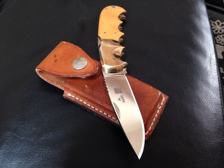 Another Al Mar Buzzard Vintage knife!  They just don't make them like this any more!