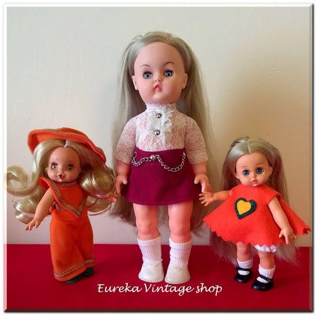 3 ελληνικές κούκλες από την δεκαετία 1970's