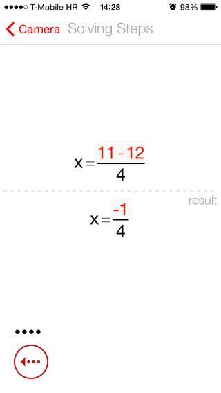 Photmath hjælper dig med at løse ligninger. Kør appen over ligningen og den finder X til dig. Den virker endnu ikke på håndskrevne opgaver. Det er da genialt og gratis.