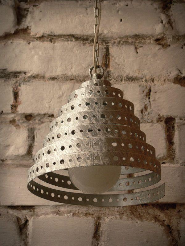 METALOWA LAMPA [XXXVIII] - METAL CEILING LAMP - LOFT