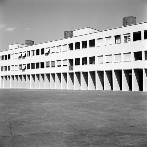 Aldo Rossi: Gallaratese housing complex, Milan