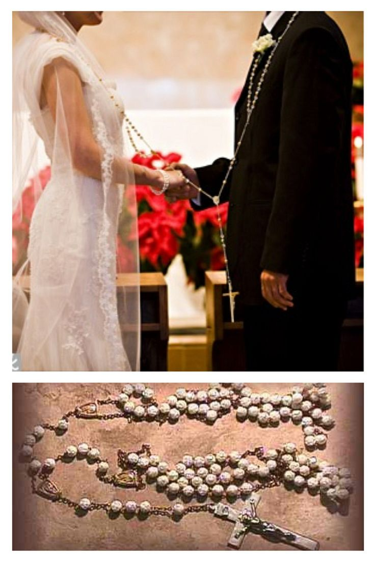 LASSO ROSARY a large loop of rosary beads is placed in a
