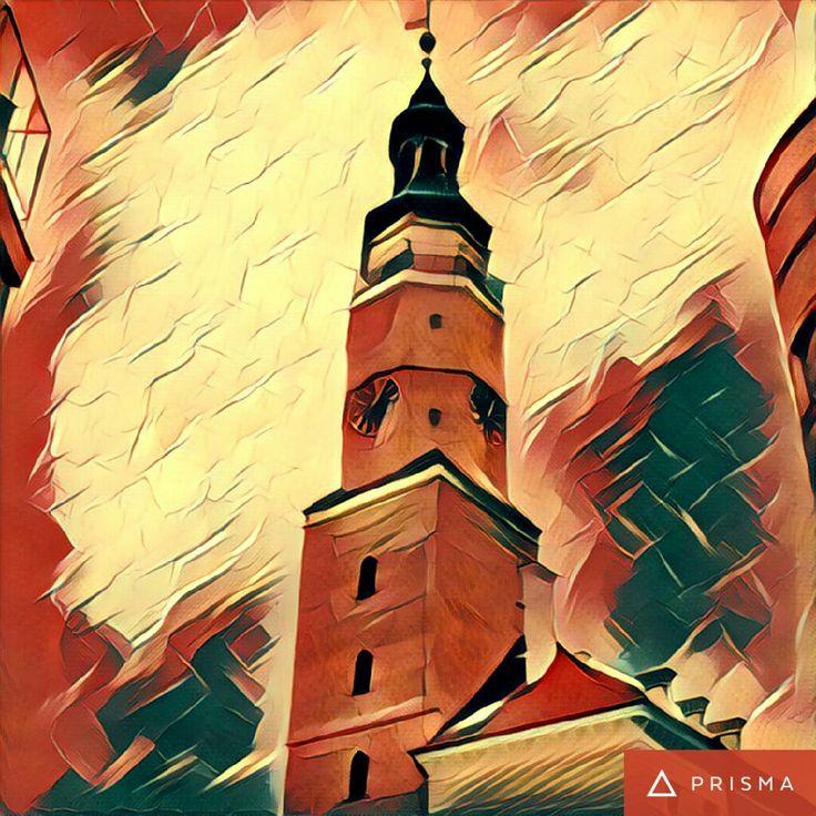 Town Hall in Głogów, Poland