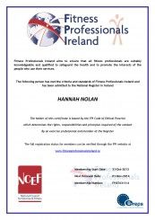 Hannah Nolan from Why Weight Ireland - IFP & EREPS Registered