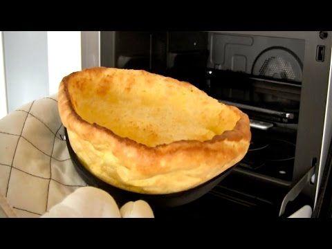 Dutch Baby Pancake (Puffy Popover German Pancake) ドイツ風パンケーキ (ポップオーバー) - ...