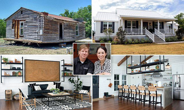 Joanna and Chip Gaines of Fixer Upper performed perhaps their most miraculous transformation with the decaying $12,000 shack their producer bought and turning it into an industrial farmhouse.