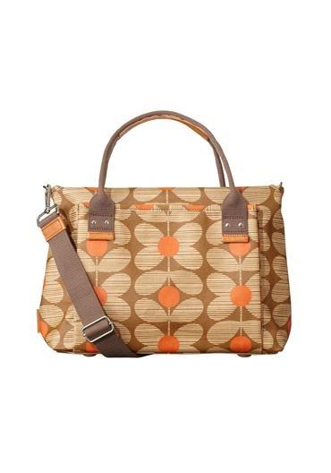 Orla Kiely Daisy Shoulder Handbag, Scarlett | McElhinneys Online Department Store
