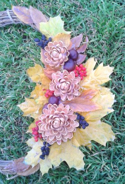 Мазайкины лоскутики: Осенний венок
