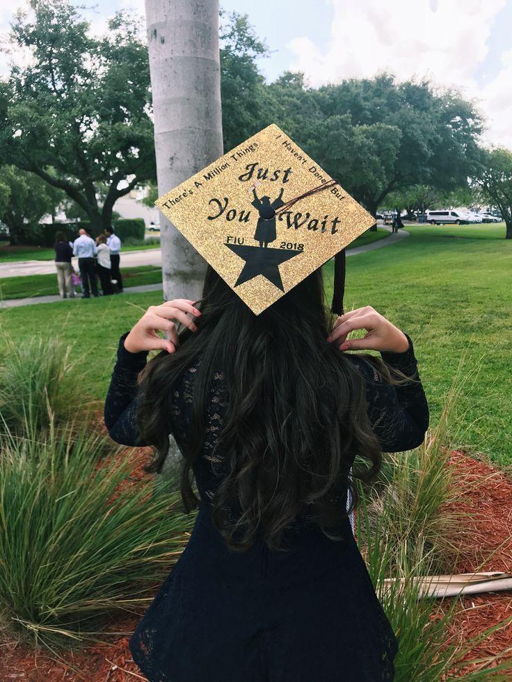 """ Top 12+ Easy Ideas "" Hamilton Graduation Cap nice"