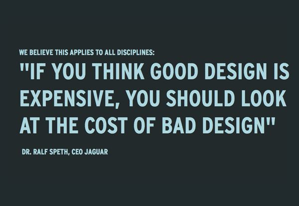 Ralf Speth on the cost of design