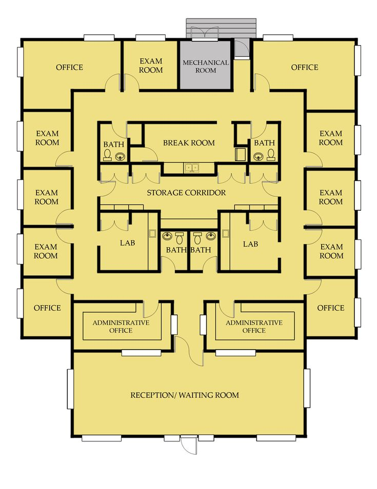 Medical Office Building Floor Plans