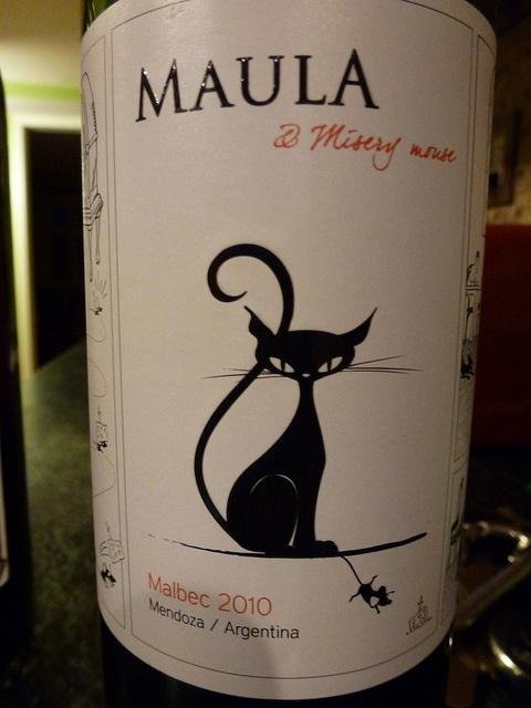 Maula & Misery Mouse - 2010 Malbec - Mendoza, Argentina
