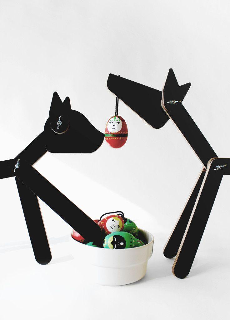 Playful Easter eggs + Neko and Blanko by Neroko