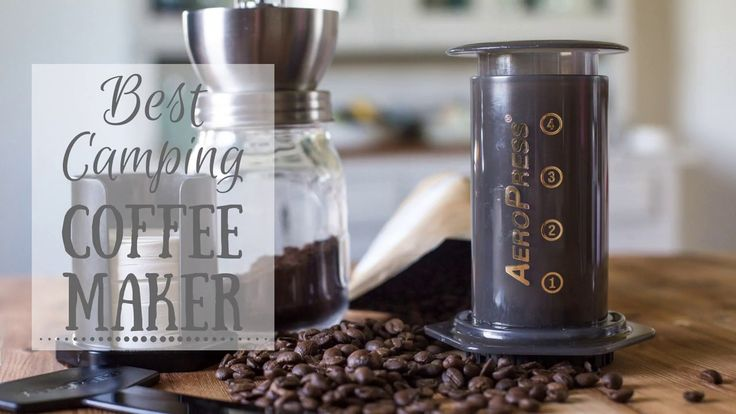Best Camping Coffee Maker? Aeropress Review #vanlife #campervan #vwcamper