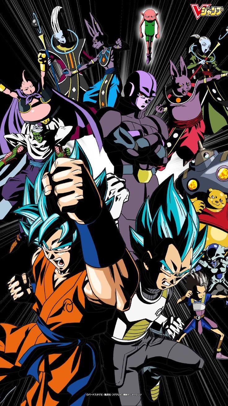 Wallpaper iphone dragon ball super -  Goku Vegeta Universo 7 Vs Universo 6 Super Saiyandragonball