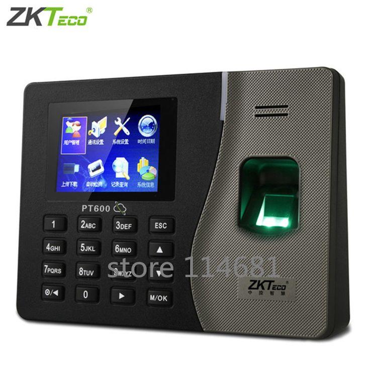 ZK PT600 biométrique d'empreintes digitales temps avec TCP/IP système communicationlinux