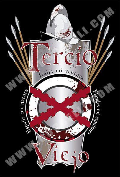CAMISETA TERCIO VIEJO - Camisetas con Historia - DucBelli