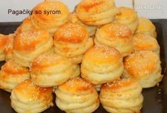 Prekladané koláčiky so syrom (fotorecept)