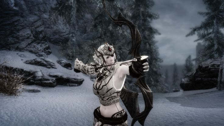 Snow Elf Follower Mirielle CBBE at Skyrim Nexus - mods and community