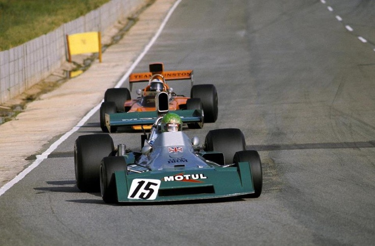 f1 Pescarolo & Scheckter (Ian), South Africa 1974