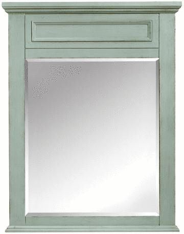 Our Sadie Wall Mirror looks good in any color. Refresh your bathroom with a stylish new mirror above the bath vanity - super simple update that makes a big difference.