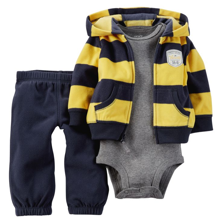 3-Piece Cardigan Set | Babies, Babies clothes and Carters ...