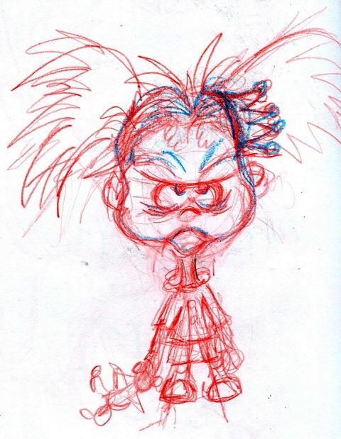 sketch idea for the Sleepy Princess