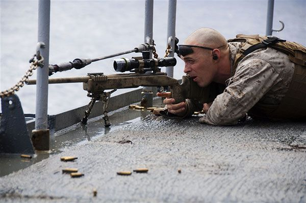 Scout Sniper. 24th MEU.