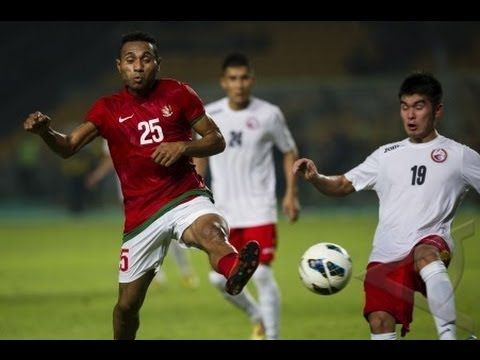 Indonesia VS Kyrgyzstan ( 4 - 0 ) Friendly Match - 1 November 2013