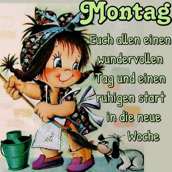 Besonders Fuer Helga Guten Morgen Montag Montag Grüße