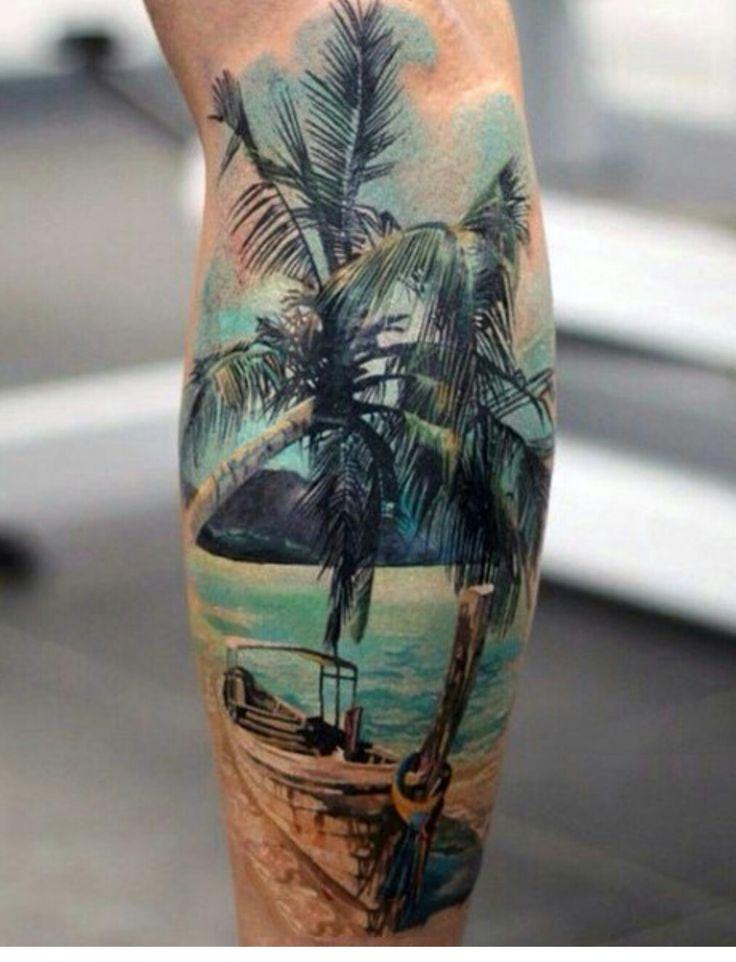 94 besten tattoos bilder auf pinterest landschaften sonnenunterg nge am strand und palmen. Black Bedroom Furniture Sets. Home Design Ideas