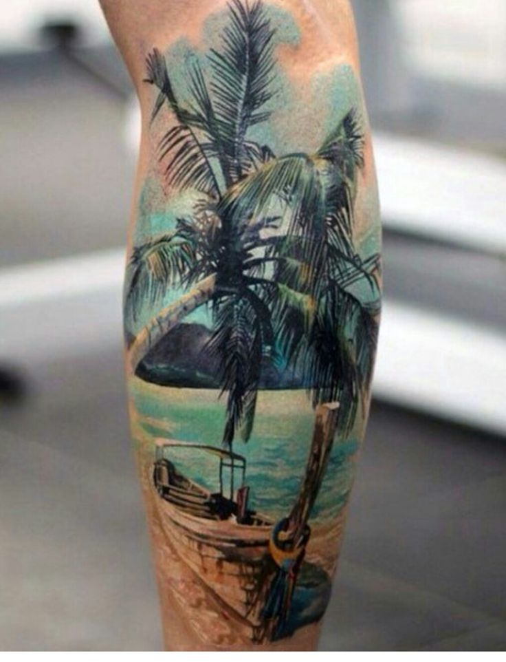 17 best images about tattoo ideas on pinterest travel for Beach scene tattoos