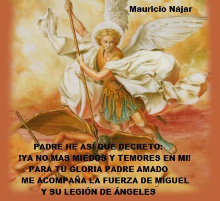 Lord I decree and declare no more fears in me,praise And Glory to You Lord amen.the strength of your archangel Michael and your legions of angels surround me.amen