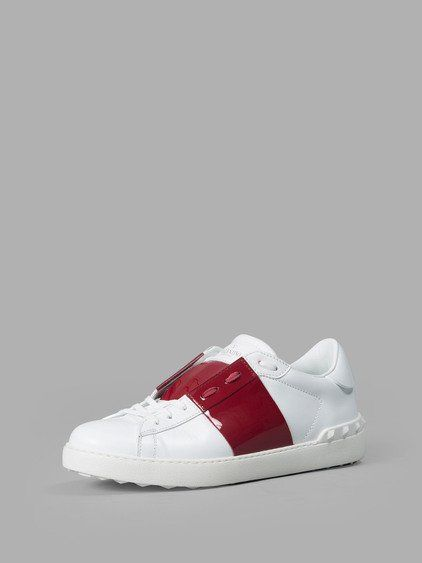 VALENTINO VALENTINO MEN'S WHITE SNEAKERS. #valentino #shoes #sneakers