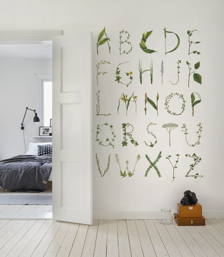 Greenhouse ABC for the spelling bee (Rebel walls) – Husligheter.se