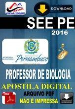 Apostila Digital Concurso SEE PE Professor de Biologia 2016