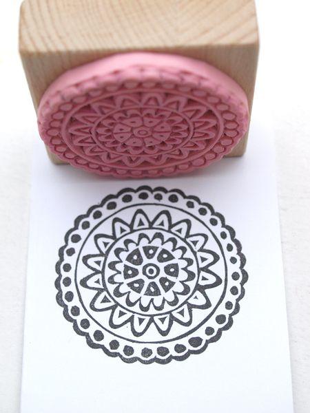 handcarved stamp © Nettis STAMPelART