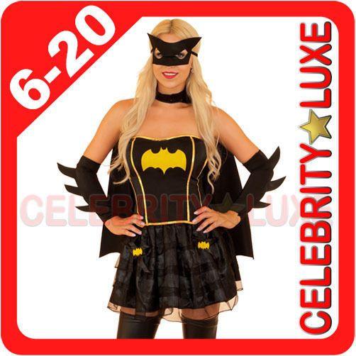 New ladies #super hero bat woman batgirl fancy #dress #costume #superhero cape mas,  View more on the LINK: http://www.zeppy.io/product/gb/2/251340406917/