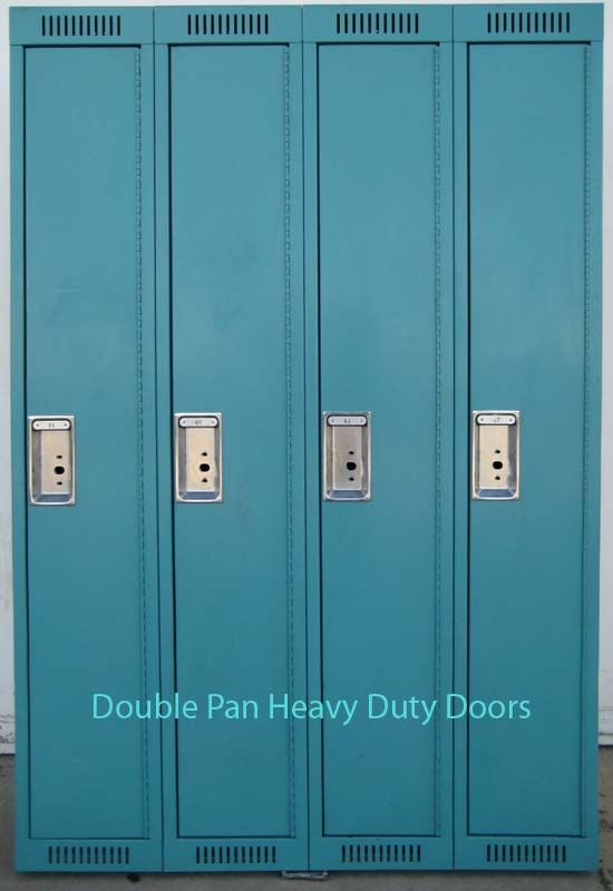 these are metal lockers that are ideal for a gym or employee locker - Employee Lockers