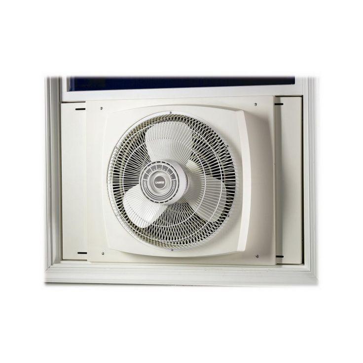 Lasko 2155A 16 in. Electrically Reversible Window Fan - 046013210012