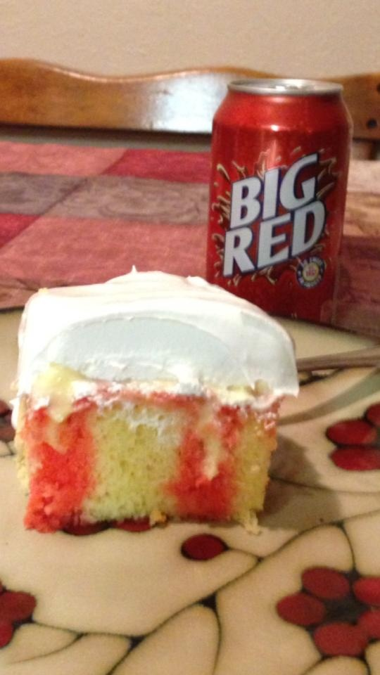 Strawberry Cake Mix With Coca