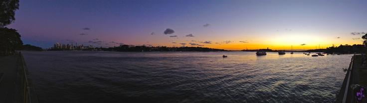 Sunset across Sydney