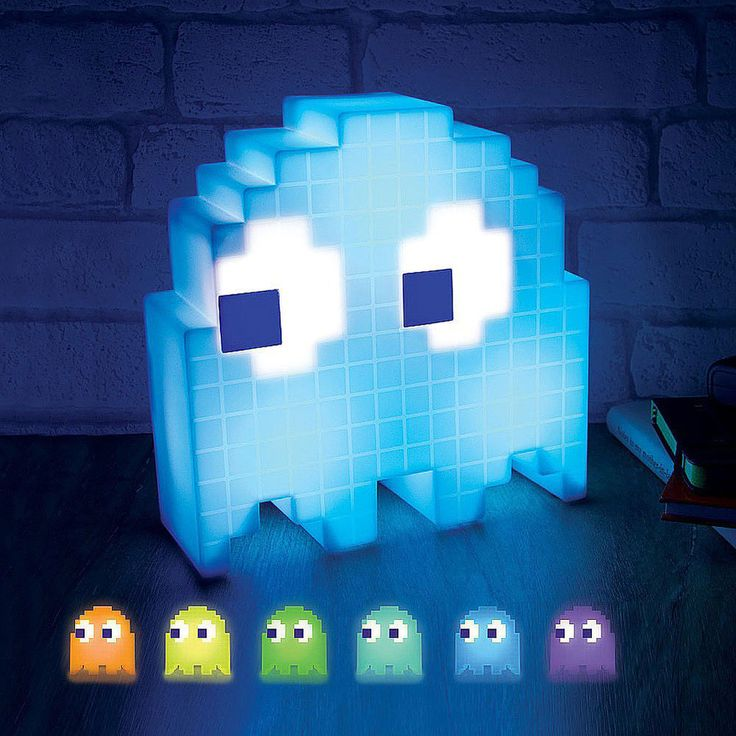 #PacManLight #PacManGhostLight #PacMan Pac-Man Ghost Light, Pac-Man Light, Novelty Light, Pac-Man Color Changing Light #PacMan