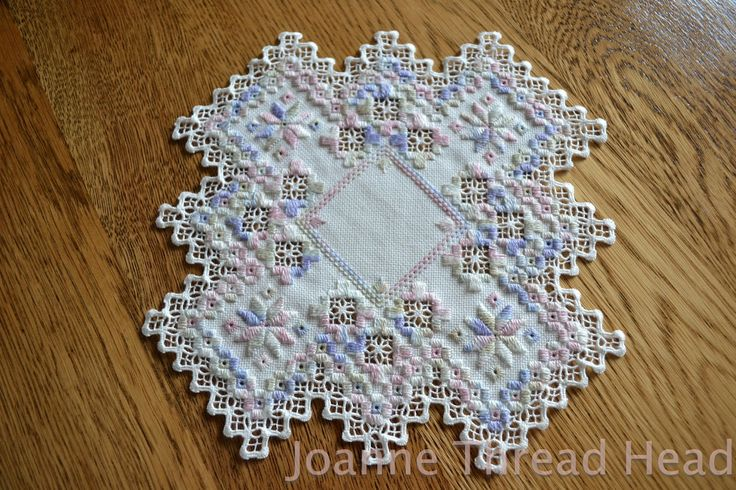 Thread Head: Hardanger Embroidery