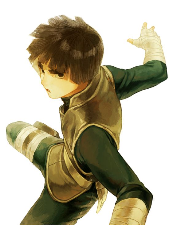 Rock Lee is an amazing character! (Of course I say this about every Naruto character, but how can I not?) He's one of the reasons, along with Gaara-kun, that I've never lost sight of my dreams.