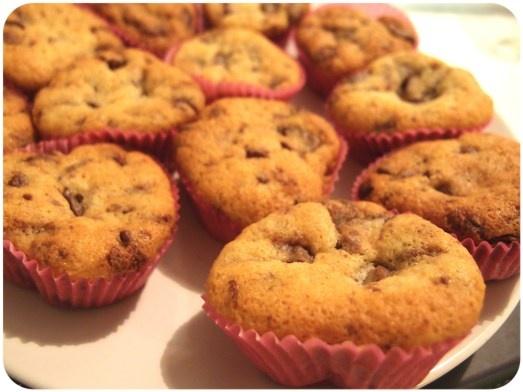 Chocolate Chunk Cupcakes.